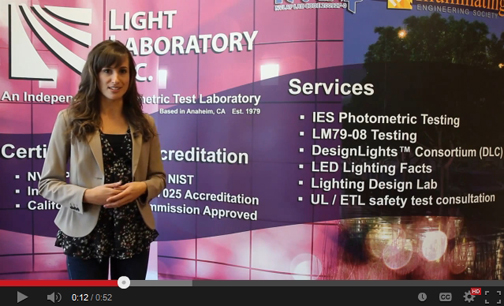 Click to view Light Laboratory Services Video.
